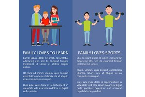 Family Loves Sports and to Learn Two