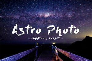 Astro Photography Lightroom preset