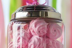 Pink marshmallow