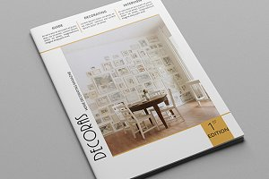 Decoras Magazine Template