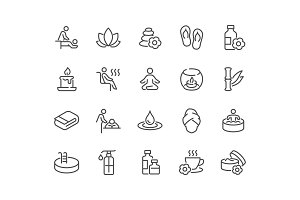 Line SPA Icons