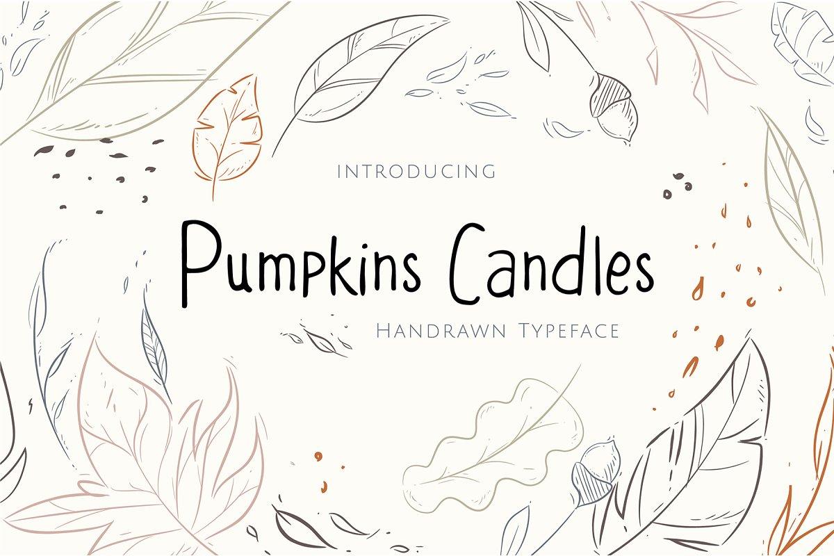 (50% OFF) Pumpkins Candles