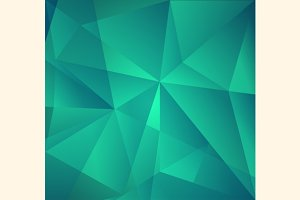 Vector Abstract Triangle Background