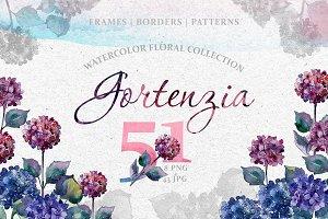 Gortenzia Magic Watercolor png