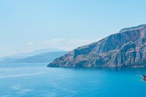 Tyrrhenian sea  landscape, Campania,