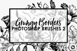 Grungy Borders Brushes & Stamps 2
