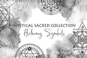 Sacred Geometry Vector Symbols
