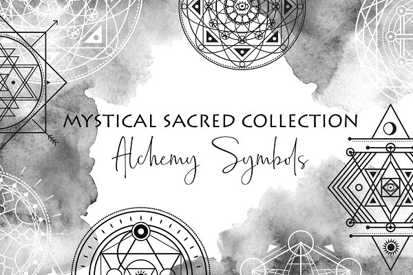 Sacred Geometry Vector Symbols