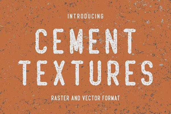 10 Cement Textures