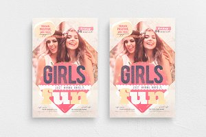 Girls Just Wanna Have Fun Flyer