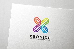 Xeonide Letter X Logo