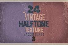 Vintage Halftone Texture/BGs 3