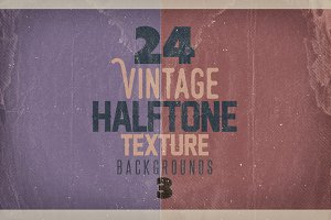 Vintage Halftone Texture Backgrounds