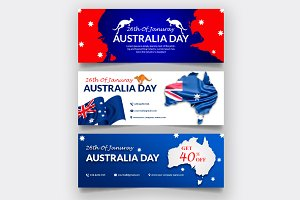 Australia Day Facebook Cover Page
