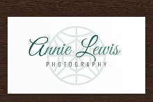 Annie Lewis Photography Logo - PSD