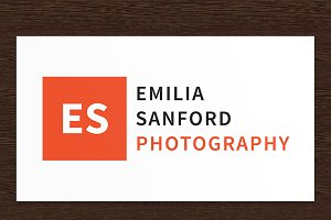 Emilia Sanford Photography Logo PSD