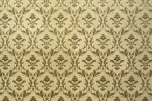 Victorian style vintage pattern on w