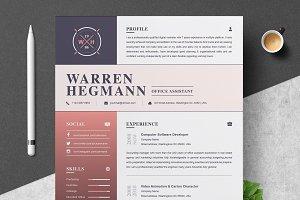 Resume Template   Modern & Creative