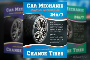 Car Mechanic Flyer