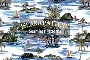 Island Pattern & Seamless Print