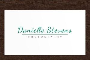 Danielle S. Photography Logo - PSD