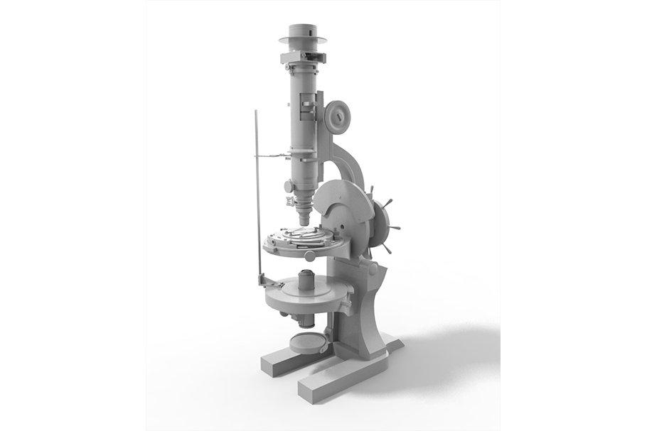 microscope retro