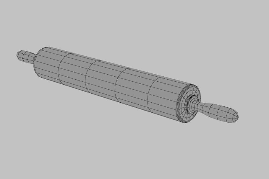 rolling pin in Food - product preview 3