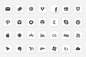 IC Minimal Icon Set - Updated