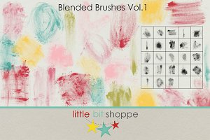 Blended Brushes Vol. 1