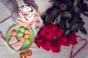 Still life for St. Valentine's Day