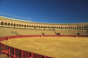 Bullfighting arena Seville