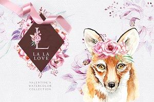 La La Love. Valentine's set