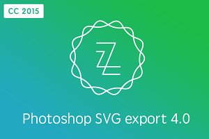 Zeick CC 2015 - Photoshop SVG export