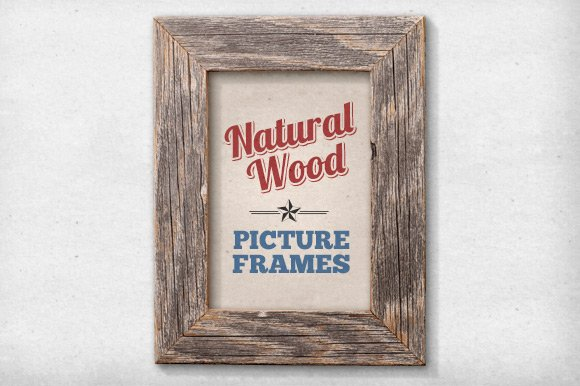 11 Isolated Natural Wood Frames ~ Graphic Objects ~ Creative Market