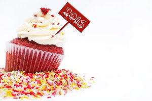 Cupcake 2016 new year