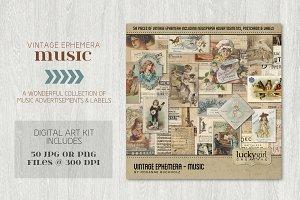 Vintage Ephemera - Music