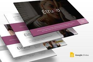 Etruria - Google Slide Template