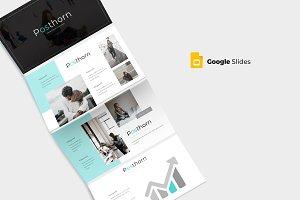 Posthorn - Google Slide Template