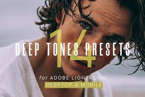 14 Deep Tones Presets + Mobile