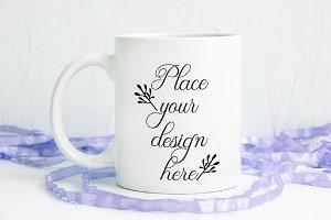 Spring Easter Coffee mug mockup