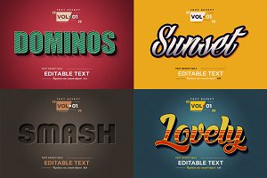 Photoshop Text Effects Volume 1