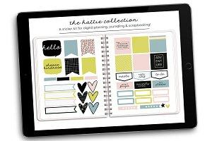 Digital Stickers | Hattie Collection
