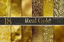 Real Gold Textures