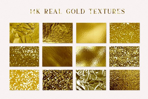 Real Gold Textures  in Textures - product preview 2