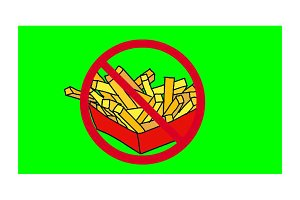 Prohibited Junk Foods 2d Animation