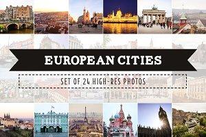 European Cities Photo Pack