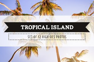Tropical Island Photo Pack