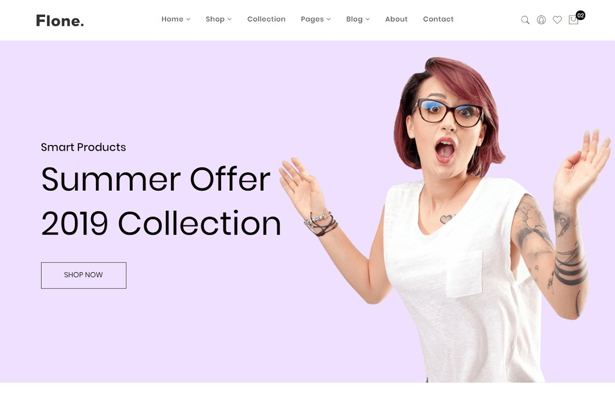 Flone -eCommerce Bootstrap4 Template