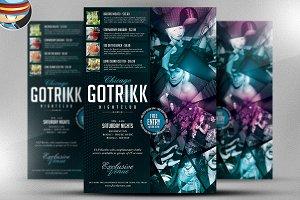 Gotrikk Club Flyer Template