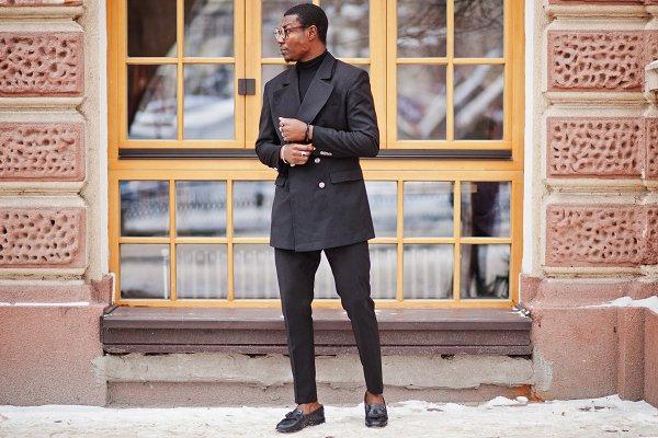 Stock Photos: AS photostudio - Stylish african american gentleman i